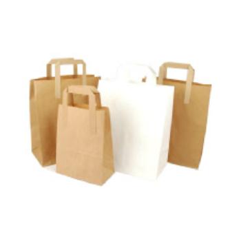 Paper bags top handle